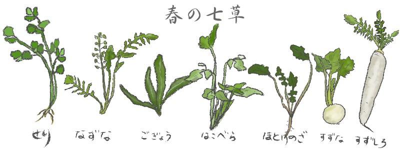 「人日の節句」正月七日の『七草粥』その起源と歴史